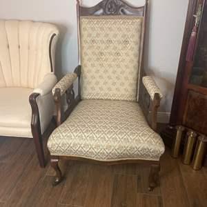 Lot # 131 - Antique armchair