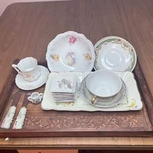 Lot # 141 - Bavarian Austrian English and Japan made Items