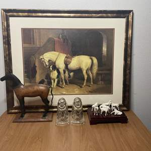Lot # 143 - Horse Decor