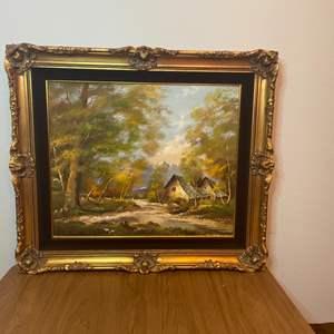 Lot # 147 - Original painting by Schmidt