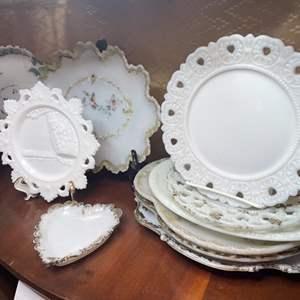 Lot # 156  - Victorian Mill Glass Items