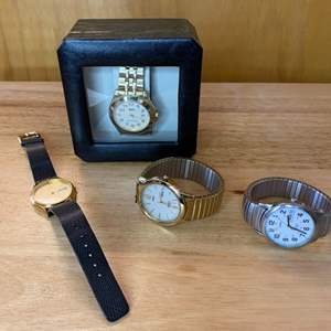 Lot # 160 - Four watches