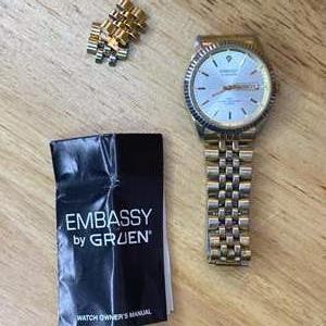 Lot # 161 - Embassy by Gruen men's watch