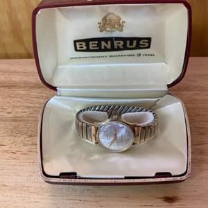 Lot # 162 - Vintage Benrus men's wristwatch with case