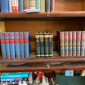 Lot # 166 - Three sets of vintage books