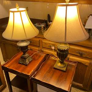 Lot # 189 - Two table lamps