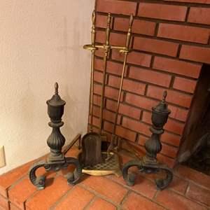Lot # 198 - Fireplace goods