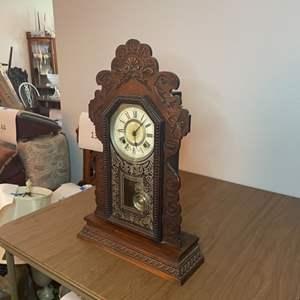 Lot # 206 - Ansonia Antique clock