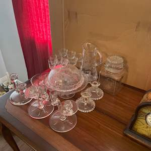 Lot # 211 - Vintage glass