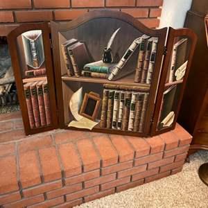 Lot # 232 - Decorative fireplace screen