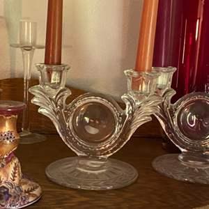 Lot # 238 - Vintage Candleholders
