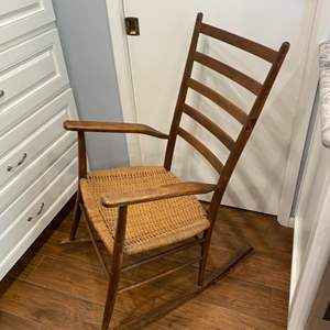 Lot # 246 - Antique rocking chair