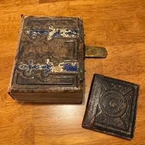 Lot # 249 - Large antique book