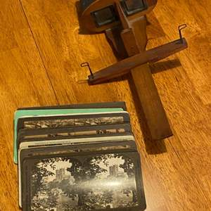 Lot # 265 - Stereographs with slides