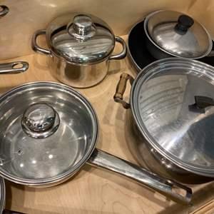 Lot # 266 - Pots & Pans