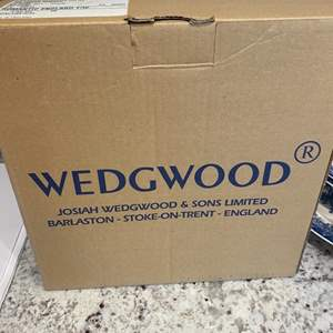 Lot # 276 - NEW in box Wedgewood dishes (three boxes) new