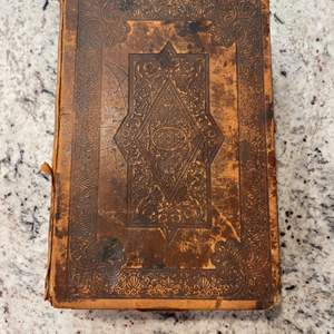 Lot # 277 - 1800's Cambridge Holy Bible Appointed to be read in churches
