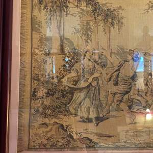 Lot # 284 - Large frame tapestry approximately 2' x 4'