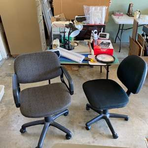 Lot # 296 - Two office chairs
