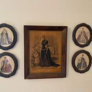 Lot # 323 - Victorian framed advertisements