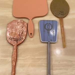 Lot # 346  - Vintage & antique hand mirrors  (9 of 10)