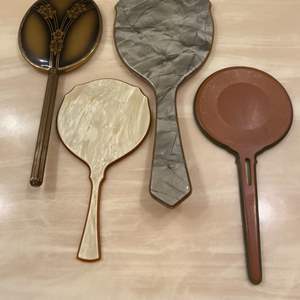 Lot # 347  - Vintage & antique hand mirrors  (10 of 10)