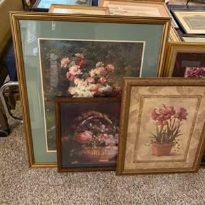 Lot # 353 - Beautiful framed prints
