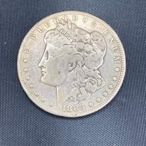 Lot # 359 - 1883 Morgan silver dollar