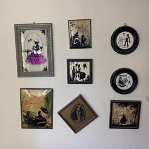 Lot # 363 - Vintage silhouettes