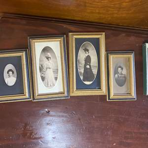 Lot # 367 - Victorian framed photos and other artwork