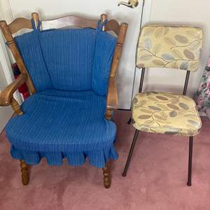 Lot # 376 - Two vintage chairs