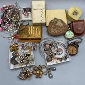 Lot # 42 - Vintage costume Jewelry