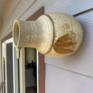 Lot # 77 - Hanging ceramic birdhouse