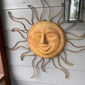 Lot # 87 - Rustic wall sun
