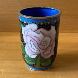 Lot # 97  -  Cloisonné cup in excellent condition