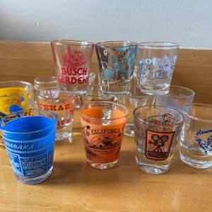 Lot # 100 - Vintage shot glasses