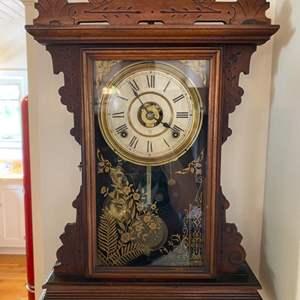 Lot # 101 - Seth Thomas mantle clock, the Dover model 1890