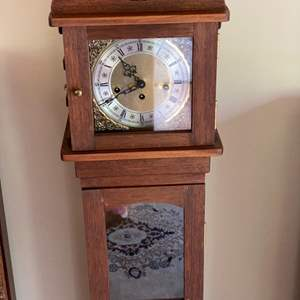 Lot # 102 - Grandson (dwarf grandfather) clock