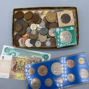 Lot # 112 - International coins