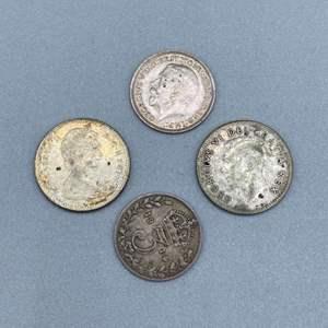 Lot # 113 - Silver international coins