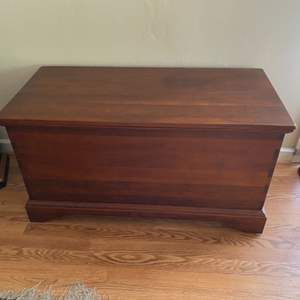 Lot # 125 - Solid wood chest