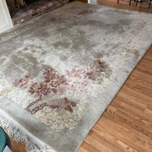 Lot # 132 - Handmade oriental rug 9 x 12