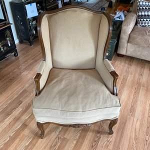 Lot # 148 - Fredrick Edward Wing back chair