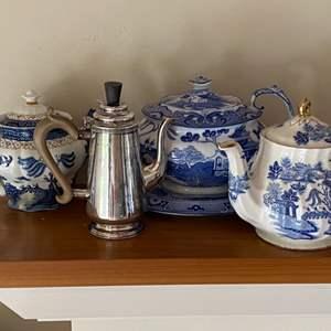 Lot # 151 - Four Coffee/tea pots