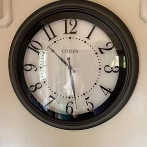 Lot # 167 - Citizen wall clock