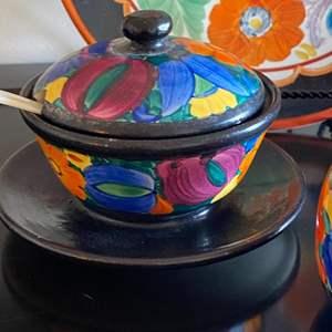 Lot # 205 - Bohemian peasant pottery