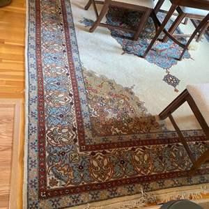 Lot # 224 - Wool rug 12x9