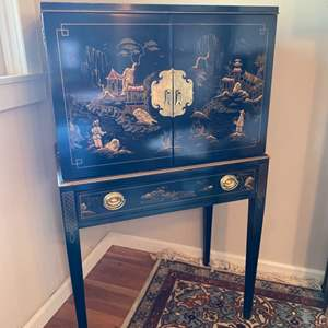 Lot # 228 - Drexel mid century Asian silver chest