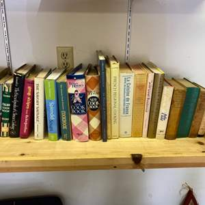 Lot # 276 - Antique and vintage cook books