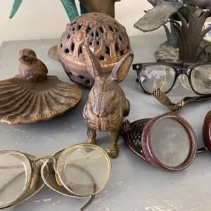 Lot # 278 - Steampunk glasses, decor and more